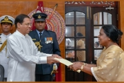 Acting minister sworn
