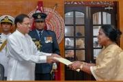 Acting minister sworn